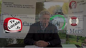 Alain CHATILLON Sénateur - Maire de Revel très impliqué dans l'Avenir du Canal du Midi et des Deux Mers #TvLocale_fr