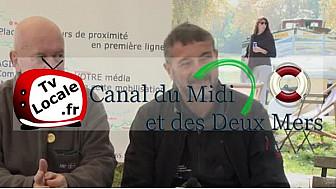 Georges DANTIN candidat à la présidence de la commission nationale 'Patrimoine Nautique' de la FFCK partie prenante de l'Avenir du Canal du Midi #TvLocale_fr