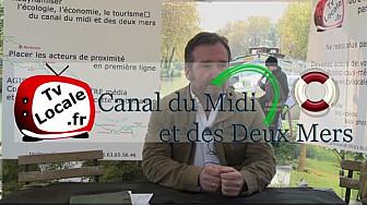 Jean MICOUD Directeur Général du Comité du Tourisme de Haute-Garonne au micro de TvLocale Canal du Midi et des Deux Mers #TvLocale_fr