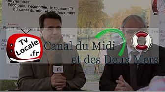Jean-Paul DELACHOUX Président de l'Association des Communes Riveraines du Canal du Midi et des Deux Mers #TvLocale_fr