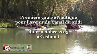 Canal du Midi et Canal des Deux Mers: première course Nautique pour l'Avenir du Canal du Midi @TvLocale_fr