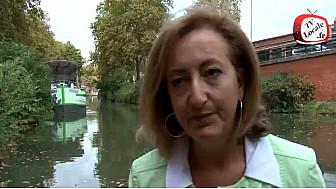 Canal du Midi et développement durable : du Chancre coloré à la gestion des boues #COP21